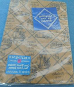 nip vintage wrapping paper suitable for a