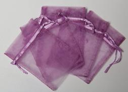 "Gift Square Organza Favor Bags - 3""x4"" - Lavender - 150 Bags"
