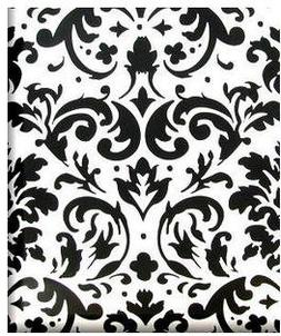 Cakesupplyshop Packaged Black & White Elegant Flower Floral
