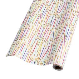 Party Candles Gift Wrap Roll - 5 feet x 30 inches
