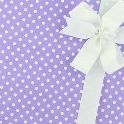 Party Paper Gift Wrap - Small Polka Dot - Grape Punch by Sma