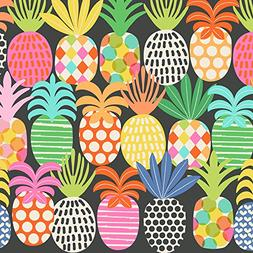 "Pineapple Pop Gift Wrap Flat Sheet - 24"" x 6'"