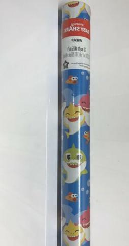 ping fong baby shark wrapping paper 70