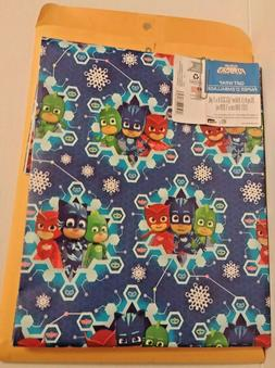 PJ MASK Christmas Gift Wrap Wrapping Paper 20 sq. ft.