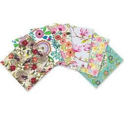 Printed Gift Tissue Assortment, Floral Designs