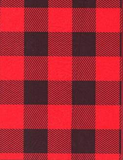 Red Lumberjack Buffalo Plaid Gift Tissue Wrapping Paper-20 S