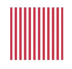 Red Stripe Jumbo Gift Wrap Party Accessory
