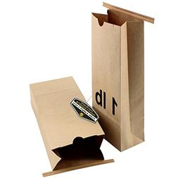 resealable kraft paper poly lined
