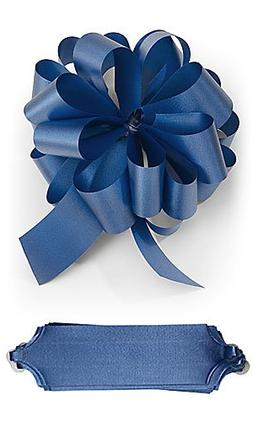 """10 Royal Blue Pull Bows 5.5"""" Diameter 20 Loops Gift Wrapping"""