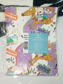 Rugrats Wrapping Paper Nickelodeon American Greetings Forget