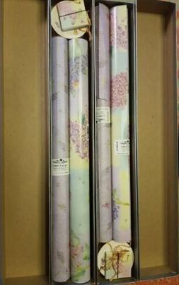 Sally Foster Gift Wrap Set LILAC Paper Tissue Ribbon Cards W
