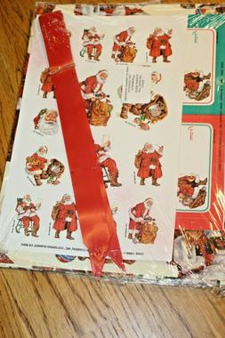 Current Santa Gift Wrap Set Sealed Stickers Wrapping paper b