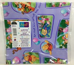 Sealed Disney Hallmark Winnie The Pooh Gift Wrap Wrapping Pa