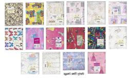 Sheet Gift Wrap Paper Various Designs CLEARANCE Hallmark Bra