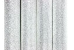 Silver Glitter Wrapping Paper Gift Present Party Wedding Chr