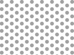 Silver and White Polka Dots Tissue Paper 20 Inch X 30 Inch -