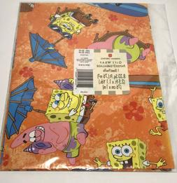American Greetings Sponge Bob & Patrick Gift Wrapping Paper