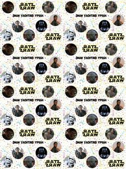 Star Wars Personalised Birthday Gift Wrapping Paper ADD NAME