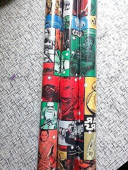 Star Wars The Force Awakens GIFT WRAP WRAPPING PAPER ROLL 80