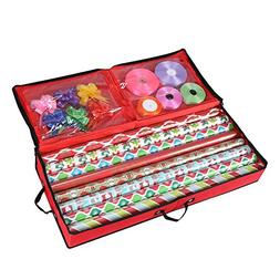 Primode Storage Organizer for 30 Inch Wrapping Paper, Ribbon