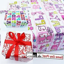 Strong Gift Wrap Packaging Paper decorative 4 meters 8m 12m