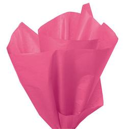 "Tissue Paper Cerise Reddish Pink 20"" x 30"" 120 Large Sheets"