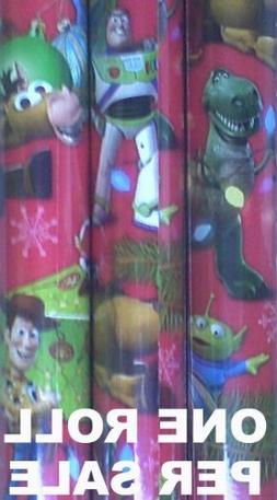 Disney Toy Story Christmas Holiday Gift Wrap/wrapping Paper