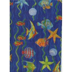 Tropical Ocean Fish Tissue Wrapping Paper-20 Sheets
