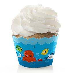 Big Dot of Happiness Under the Sea Critters - Baby Shower or