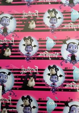VAMPIRINA Wrapping Paper Gift Book Cover Party Wrap PARTY Bi