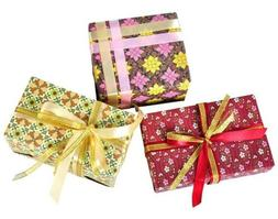 Vinegar&Brown Gift Wrapping Paper 9 Sheets  for Christmas/Bi
