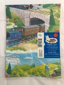 Vintage 1992 Thomas the Tank Engine Wrapping Gift Paper Amer