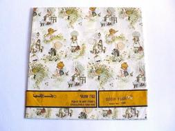 Vintage American Greetings Holly Hobbie Gift Wrap Wrapping P