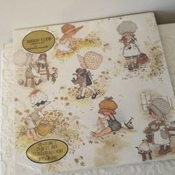 Vintage American Greetings Holly Hobbie Wrapping Paper 7.9 S