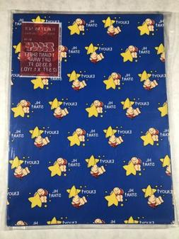 Vintage American Greetings Ziggy Gift Wrapping Paper NIP