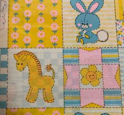 Vintage Baby Gift Wrap Wrapping Paper Boy Or Girl Norcross
