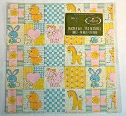Vintage Baby Shower Gift Wrap Wrapping Paper Boy Or Girl Nor