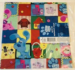 Vintage Hallmark Blue's Clues Wrapping Paper Gift Wrap 200