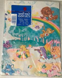 Vintage Care Bear Cousins Wrapping Paper American Greetings