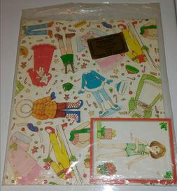 Vintage Christmas Wrapping Paper 1981 Paper Playmate Gift Wr