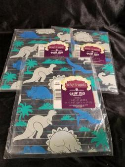 Vintage Dinosaur Wrapping Paper/Scrapbook Paper From AMERICA