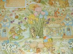 vintage easter wrapping paper 2 sheets 20