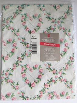 Vintage American Greetings Gift Wrap Wrapping Paper ROSE HEA