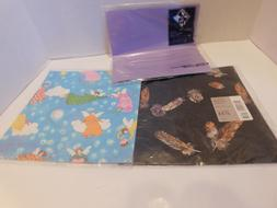 Vintage Hallmark All Occasion Gift Wrapping Paper Sealed Var