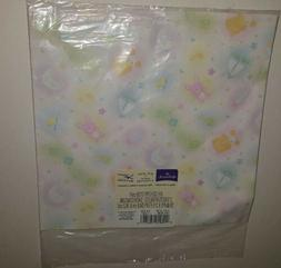 vintage hallmark wrapping paper baby shower gift