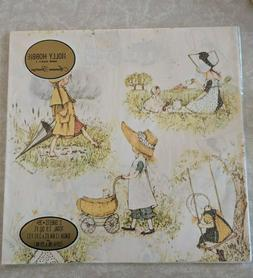 Vintage Holly Hobbie Gift Wrapping Paper American Greetings