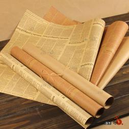 Newspaper Decoration Gift Flower Wrapping Paper Party Decor