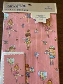 Vintage Wrapping Paper And Card Joan walsh Anglund birthday