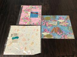 Vtg Hallmark American Greetings Gift Wrap Wrapping Paper Bir