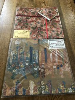 Caspari Wrapping Paper 2 Sets Wisteria Noh & French w/Cards,